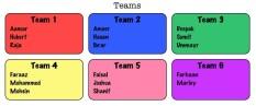 13E groups