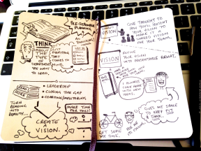 SAMPLE- 1st Year as a HoD SketchBook