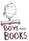 boys and books clip