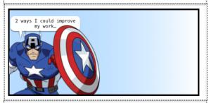 Avenger sticker title