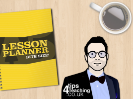 lesson planner ad cover