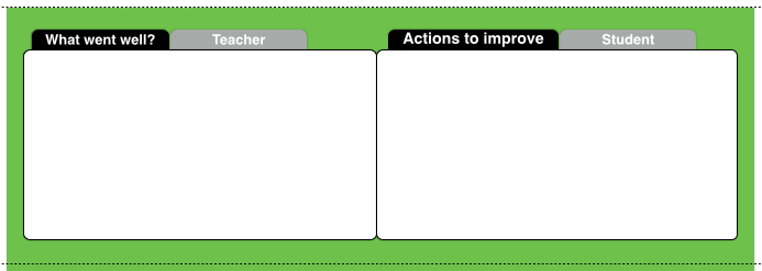 feedback teacher