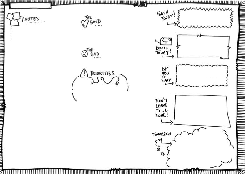 Desk pad image